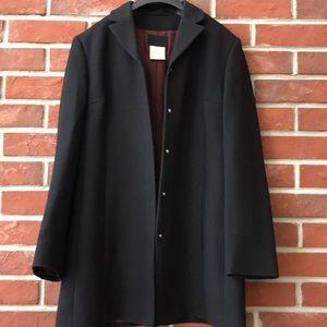 DOLCE & GABBANA Classic Black 3/4 Coat
